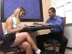 Tranny teacher gives student a private lesson